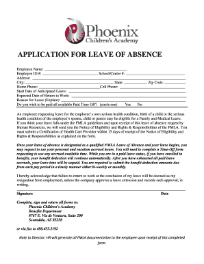leave of absence application carleton university