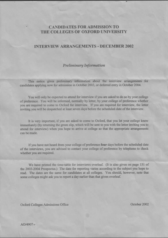 funny job application rejection letter