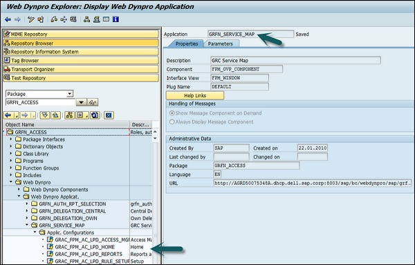 web application access control design