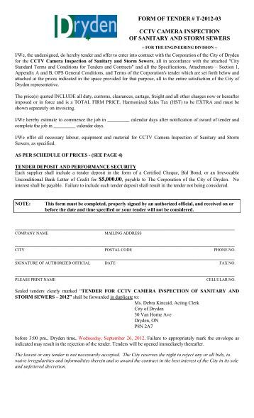 city of hamilton permit application sewer