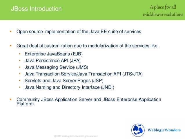 jboss application server architecture pdf