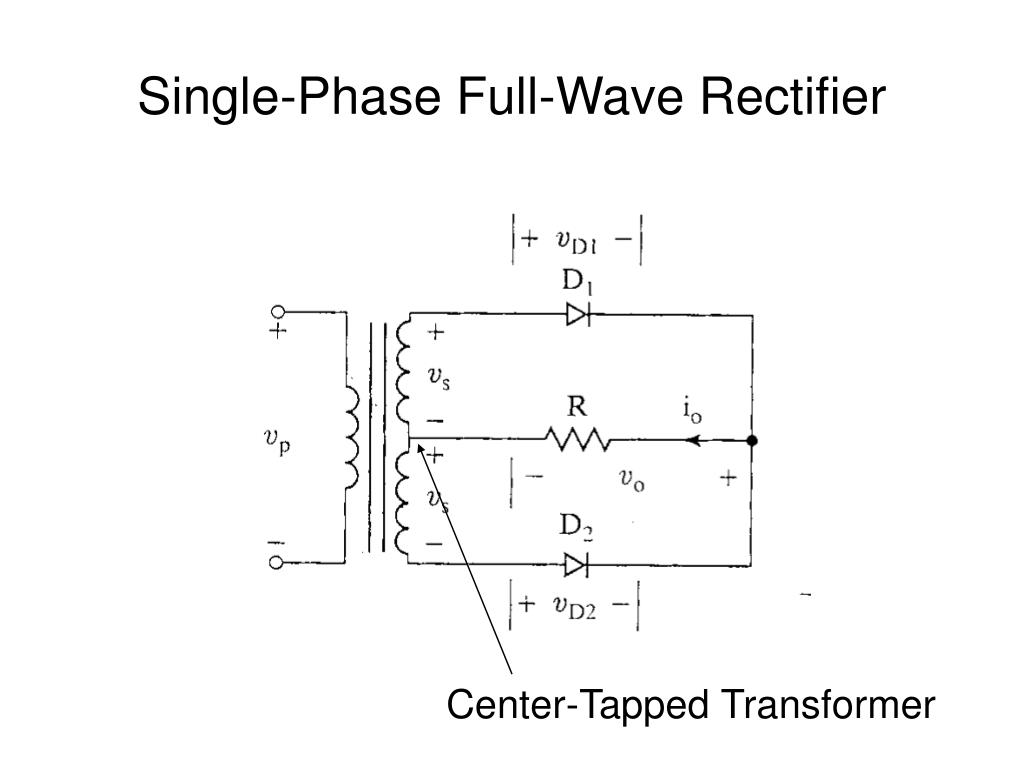 application of half wave rectifier ppt