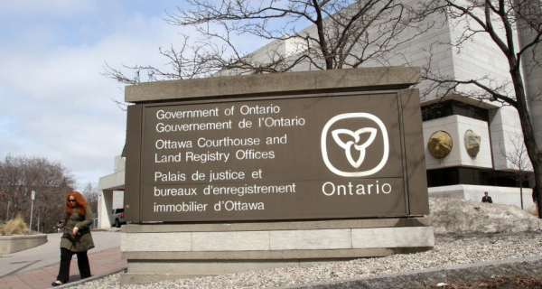 ontario provincial offences act application