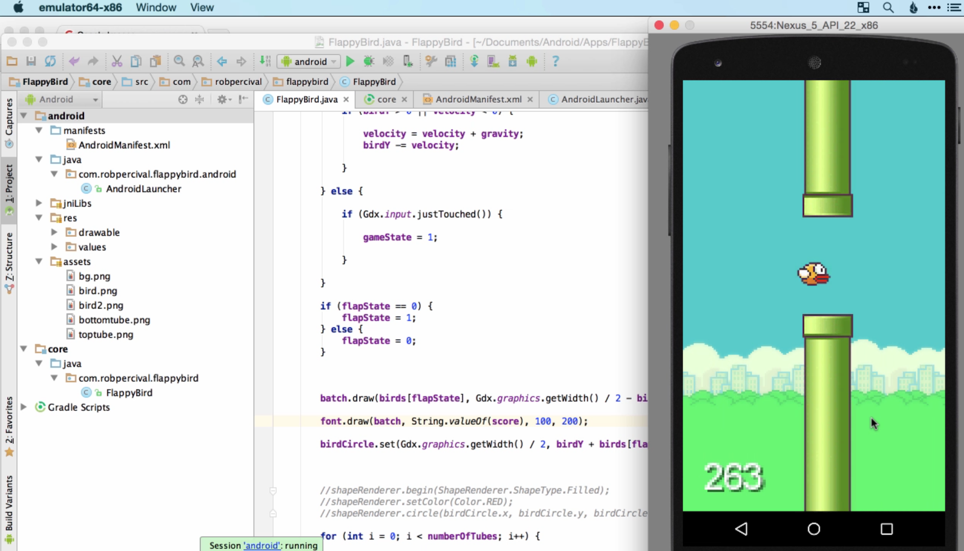 ios app development make your own flappy bird application