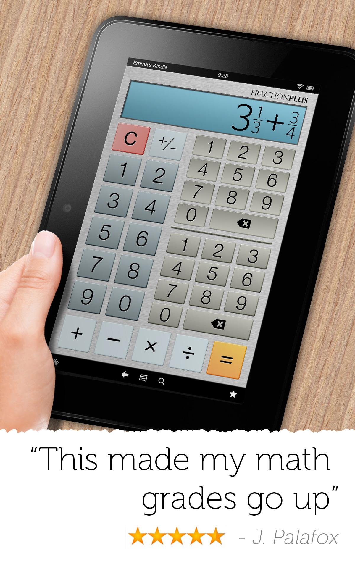 application calculatrice scientifique pour android