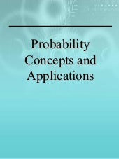 situation for application of statistics and probability in real life