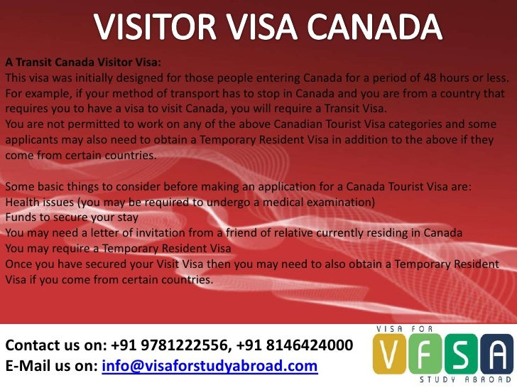 how long does a canadian transit visa application