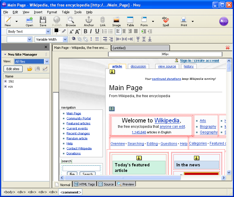 example of open source application software wikipedia