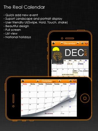 application gratuite calendrier de l& 39