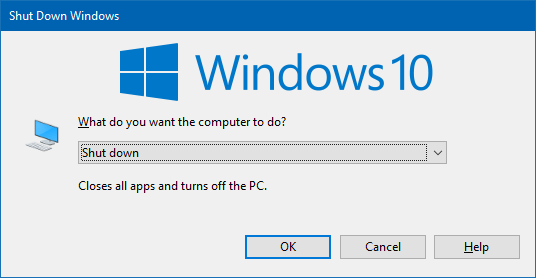 setup was unable to automatically close all applications windows 10