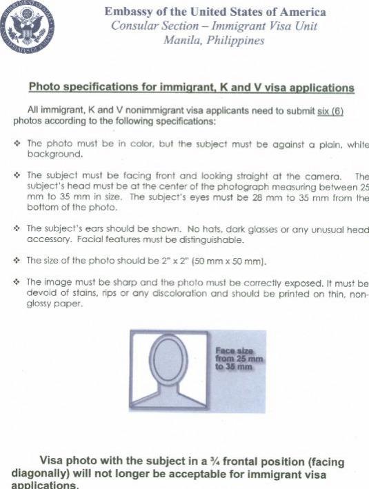 visa application 2 sets of 2 copies