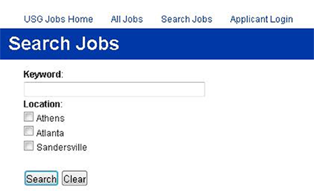 state of georgia job application
