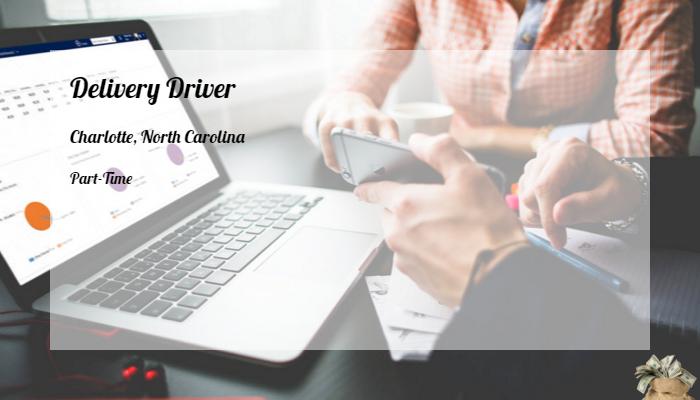 napa auto parts delivery driver application