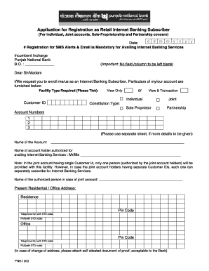 pnb personal loan application form download