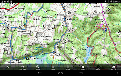 application android gps sans connection internet