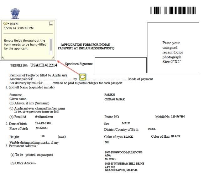 indian passport renewal application form dubai
