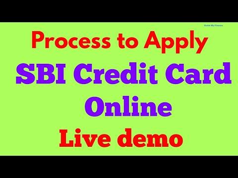 online application for sbi gold credit card