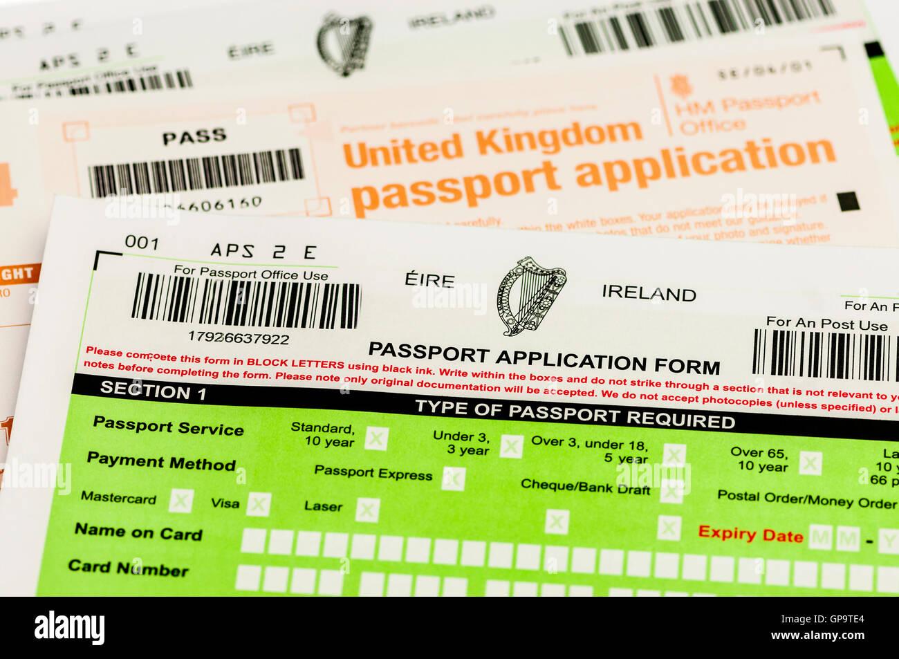 passport application form uk login
