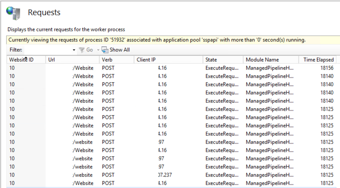 iis 8 application pool cpu limit