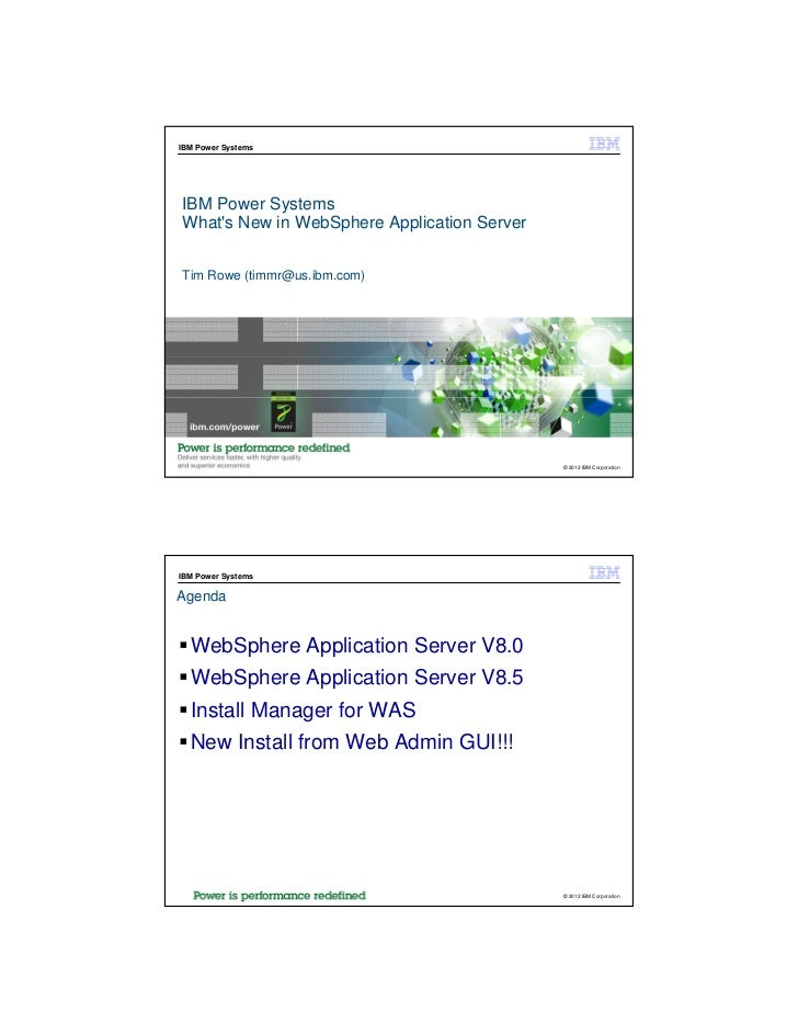 new features in websphere application server 8