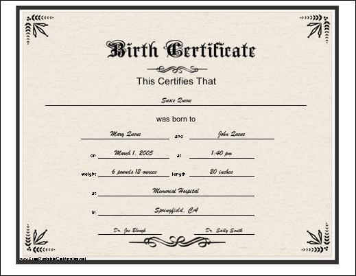 birth certificate application bc canada