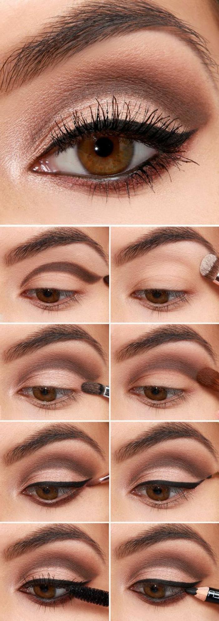 comment appliquer crayon contour des yeux