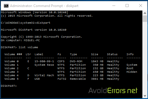 how to open applications with the command prompt