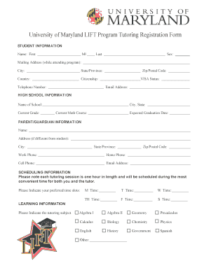 university of maryland linguistics application