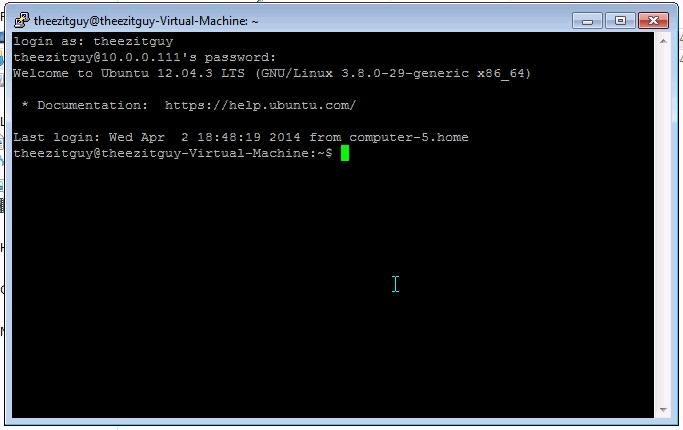 ssh protocol default applications for ubuntu
