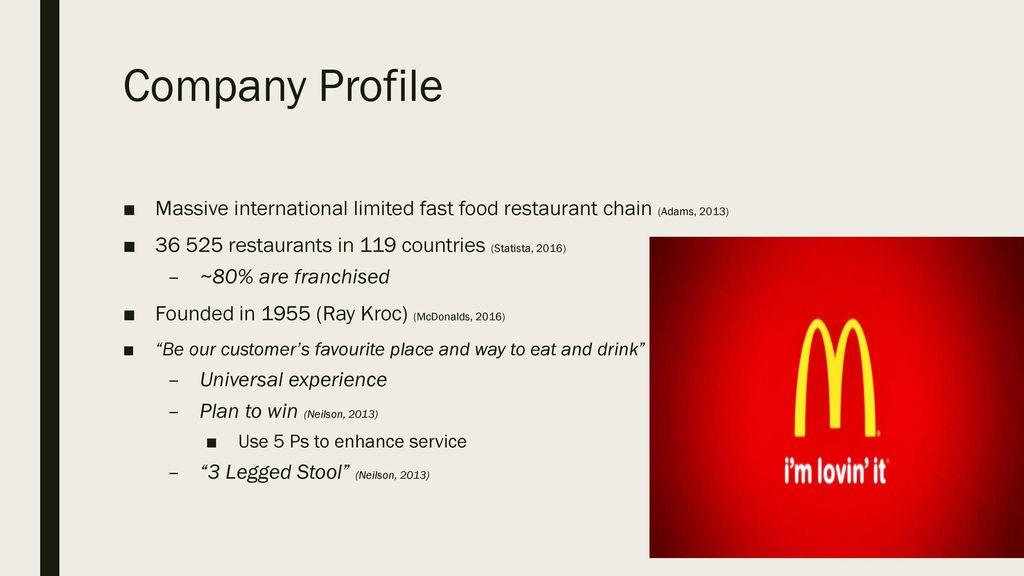 mcdonalds franchise application form pdf