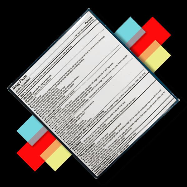 minoxidil application twice a day