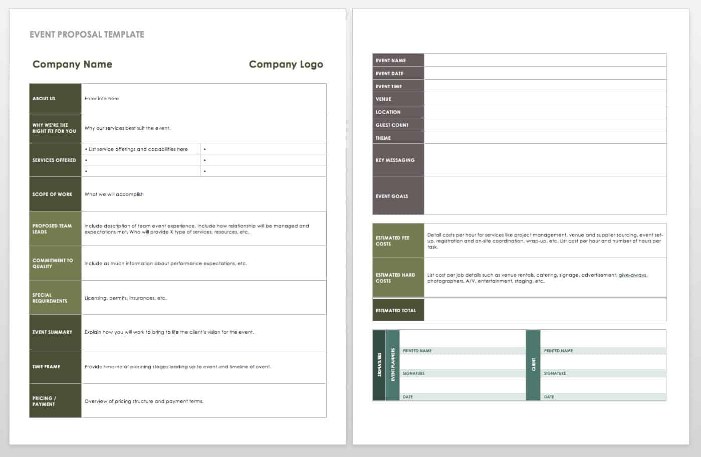 show and event security application form