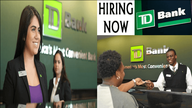 td bank application jobs and career online