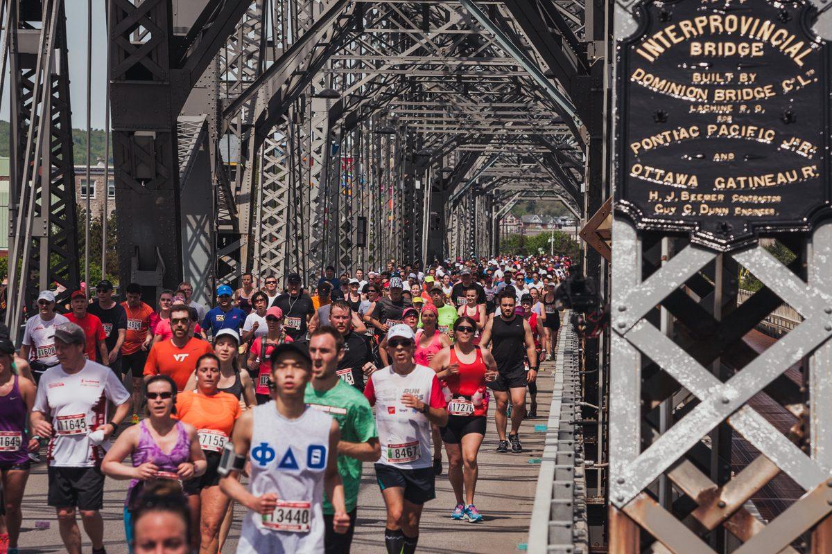 ottawa race weekend track a runner application