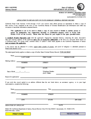 criminal record application form winnipeg