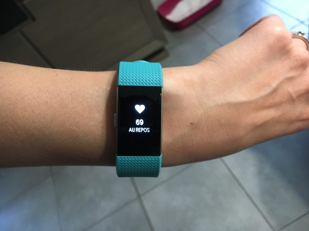 charge 2 programmer alarme sur application fitbit