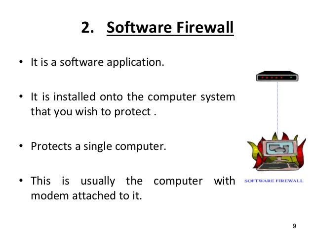 five types of software applications and its function