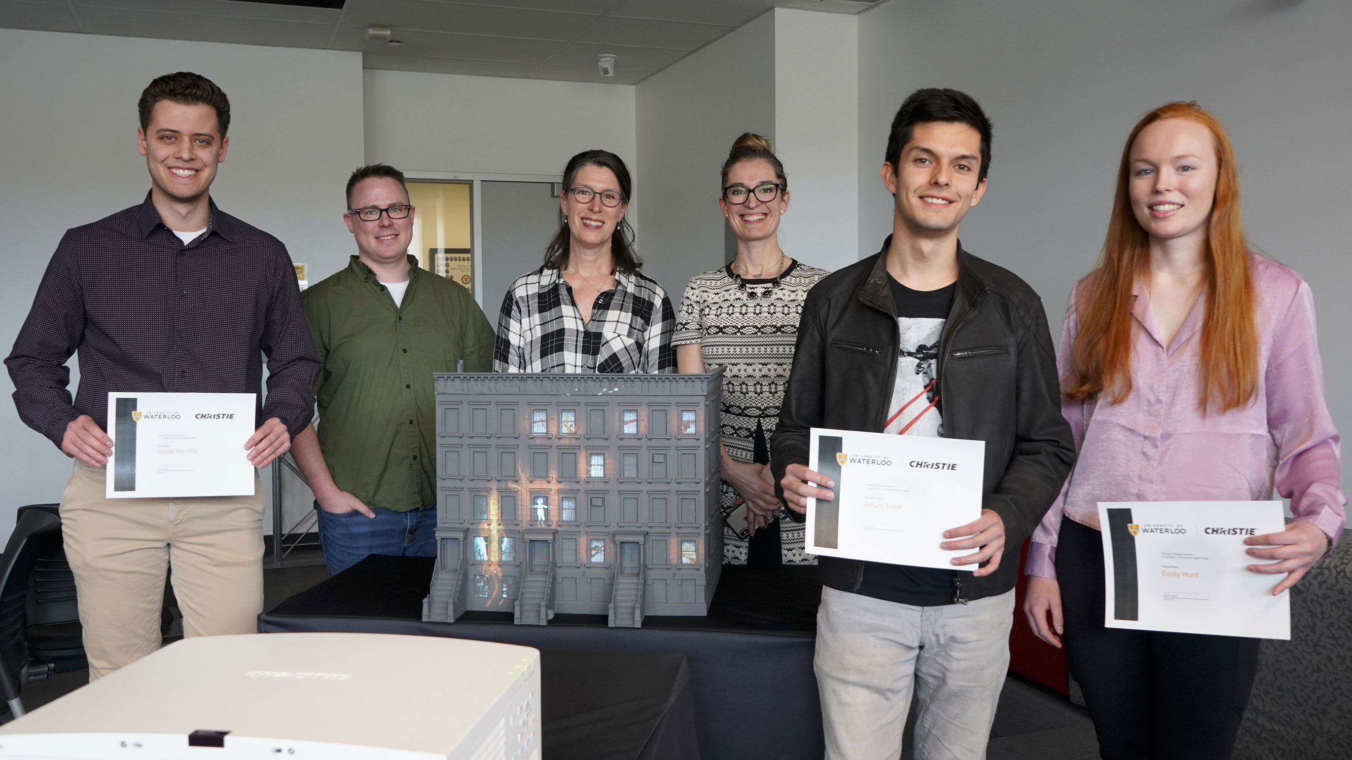 university of waterloo fourth year design project award applications