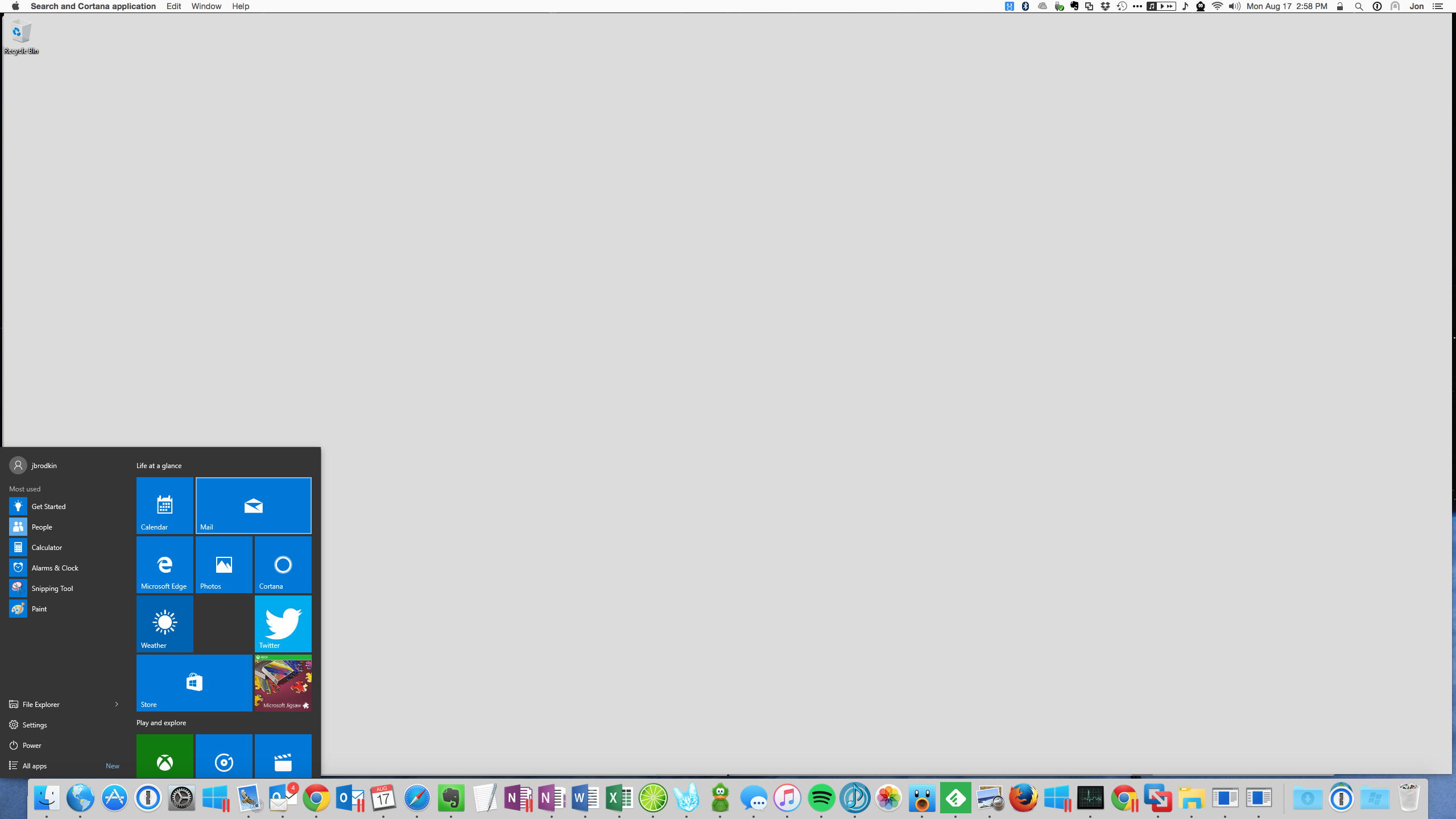 how do i open applications icon back on mac desktop