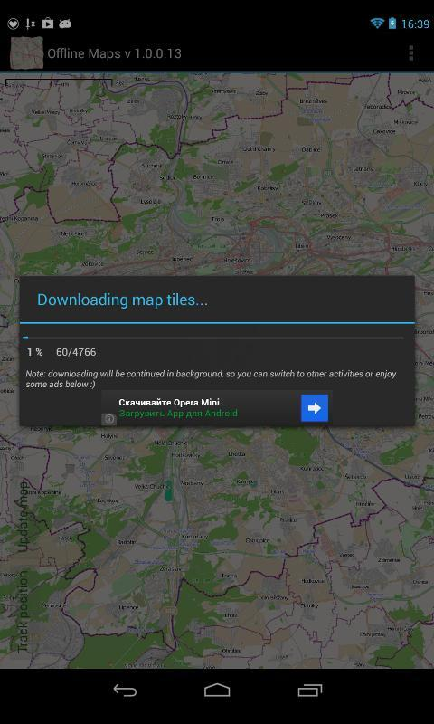 offline maps and directions application iphone