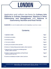le cordon bleu application form