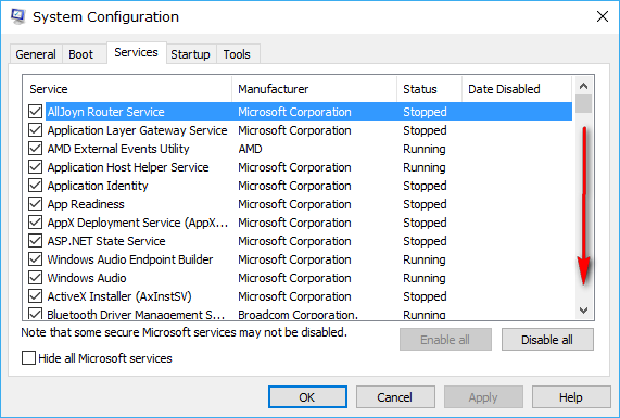 windows 10 application opening slowly
