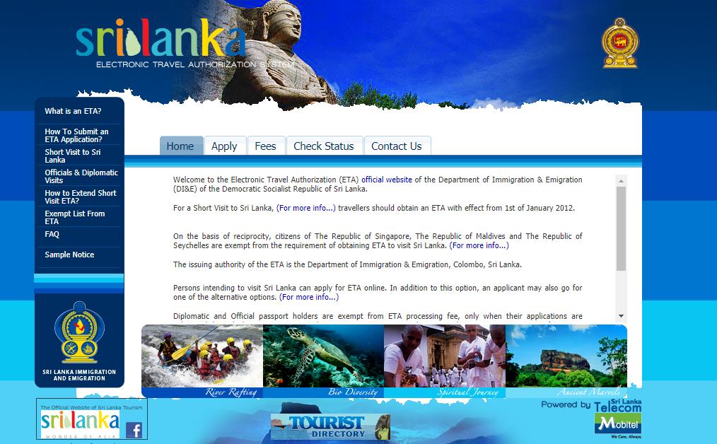 canada visa application tracking in sri lanka