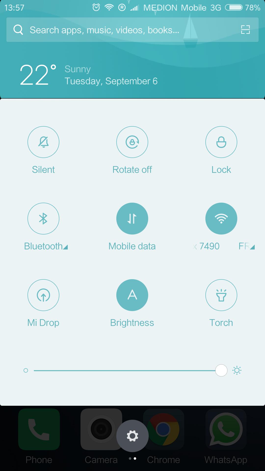 redmi note 4 application location
