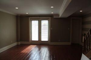 rental application in basement apartament