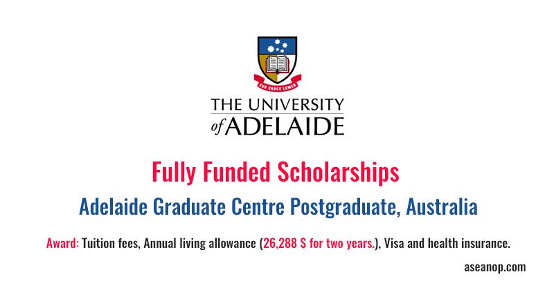 university of adelaide international student application