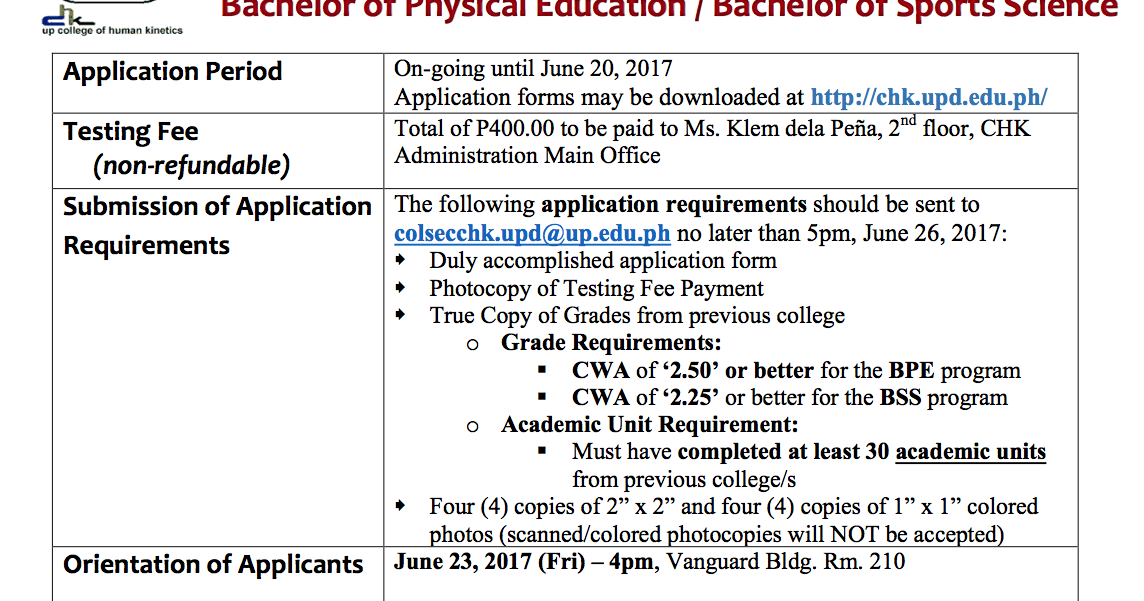 up diliman application and admission