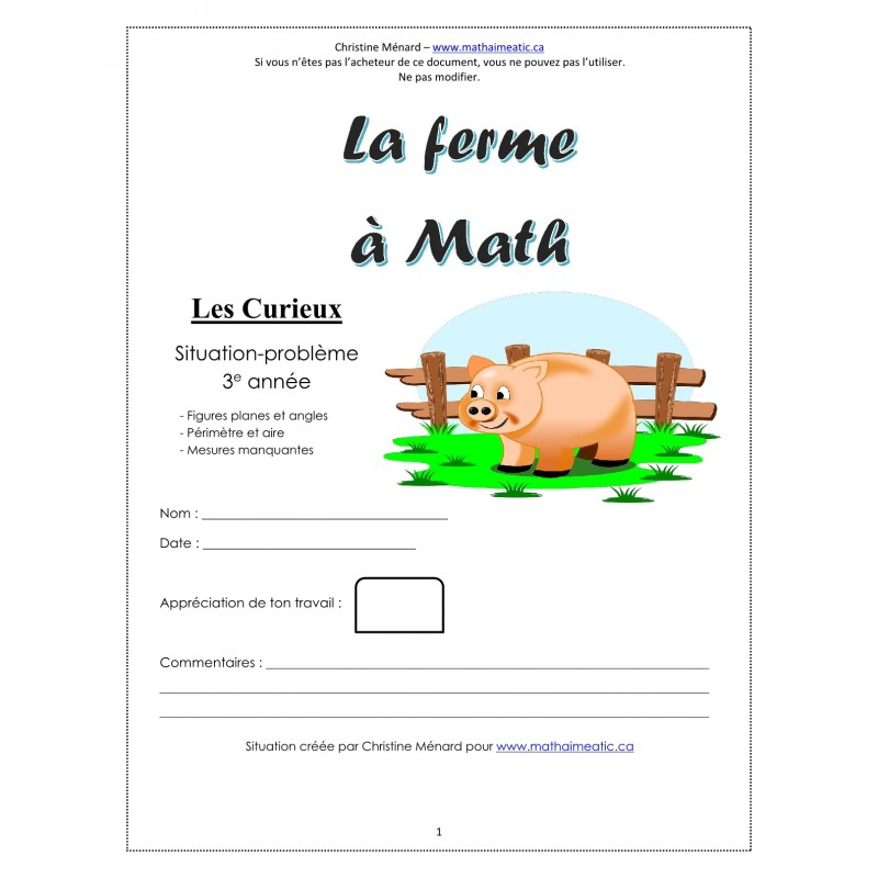 application en maths sur les d