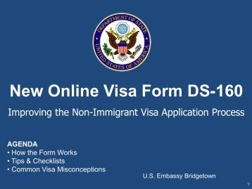 ds 160 visa application form philippines