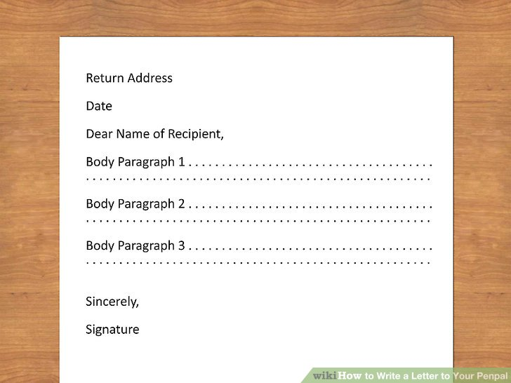 do you need to put return address on pal application